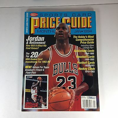 Sports Card Price Guide, January 1994, Michael Jordan, One Owner Of Magazine