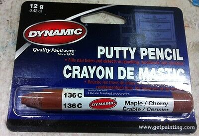 Dynamic PUTTY PENCIL MAPLE CHERRY FILL 136C PA10136C painting supplies filler
