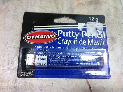 Dynamic PUTTY PENCIL LIGHT MAHOGANY FILL 134C PA10134C painting supplies filler