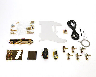 Pit Bull Guitars TL-1 Pickup and Hardware Upgrade – Gold