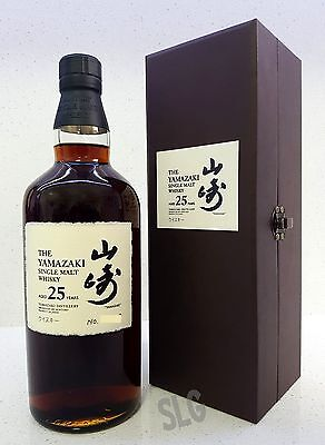 Suntory Yamazaki 25 Year Old Japanese Single Malt Whisky. 700ml 43%  RARE!