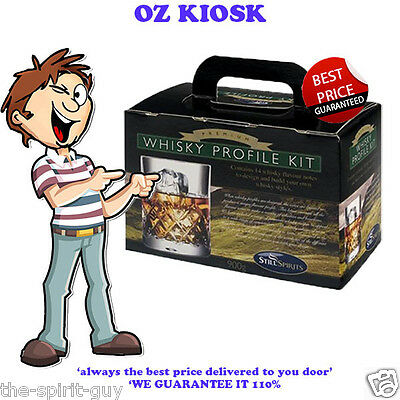 WHISKEY PROFILE KIT By STILL SPIRITS @ $69.99  *** DELIVERED ***