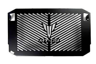Radiator Guard MT-09 TRACER with TRACER LOGO Black