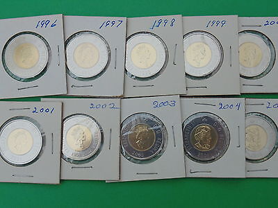 LOT OF 10 PROOF LIKE $2 POLAR DOLLARS(from pl sets)