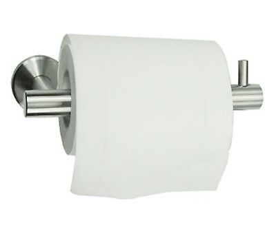 Toilet Roll Tissue Paper Dispenser Holder Round Wall Mounted Stainless Steel