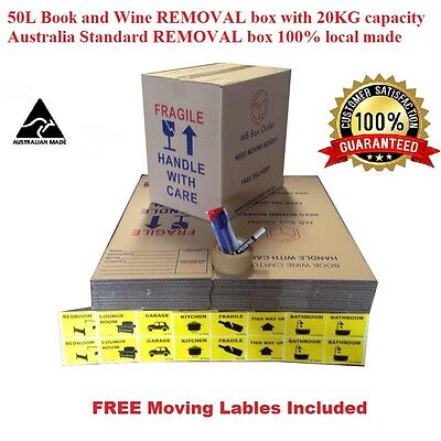 30X50L Moving Box & Packing Supply Removalist Packaging