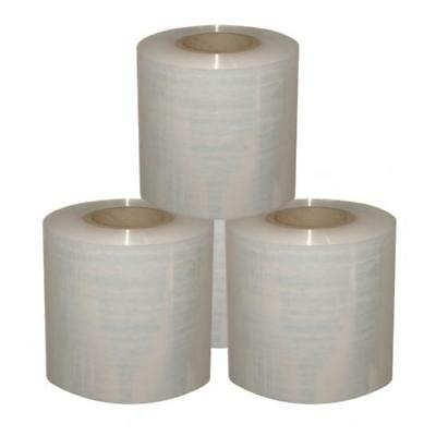 20 Rolls 100Mmx300Mx20Um Clear Bundle Wrap Heavy Duty!