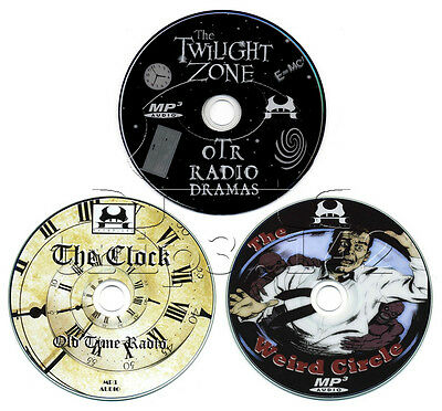 Twilight Zone, The Clock, Weird Circle - Old Time Radio Sci-Fi Collection (OTR)