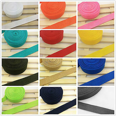 New Hot 2/5/10/50 Yards 3/4inch 20mm Wide Strap Nylon Webbing Strapping Pick