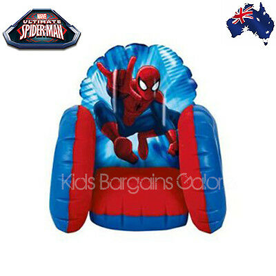 Aus Qlty-GENUINE Spiderman Inflatable Armchair Sofa Chair-Indoor/Outdoor