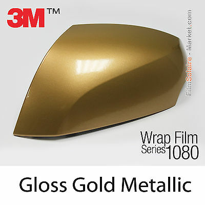 152x400cm FILM Gloss Gold Metallic 3M 1080 G241 Vinyle COVERING Car Wrapping