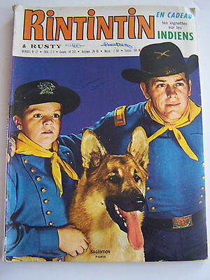 Rintintin Et Rusty  Sagedition . N° 12 . 1971 .