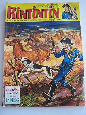 Rintintin Et Rusty  Sagedition . N° 14 . 1971