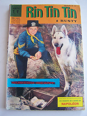 RINTINTIN ET RUSTY  SAGEDITION . N° 114 de 1969 .