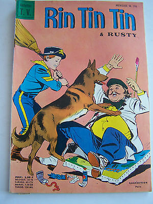 RINTINTIN ET RUSTY  SAGEDITION . N° 116 de 1969 .