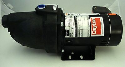 "Dayton 3/4 hp Jet Pump Model 1MMT8 3450 RPM 230V Shallow Well Water 1"" NEW"