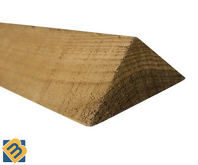"""Arris Rail Fencing 75mm - Treated Fencing Timber 3"""""""