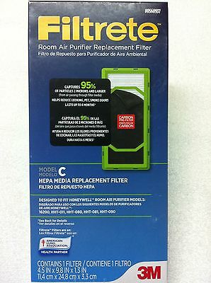 Filtrete 0560937 Room Air Purifier Replacement Filter - Model C