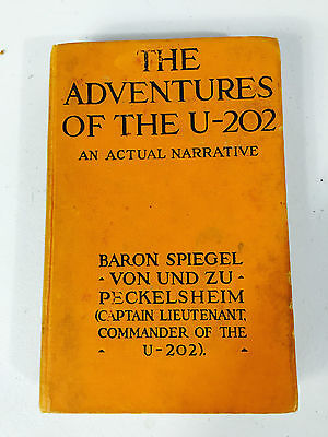 1917 The Adventures Of The U-202 Book