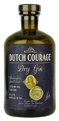Zuidam Dutch Courage Dry Gin 700ml