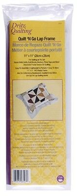 Dritz Quilting Quilt-N-Go Lap Frame, 28cm by 28cm. Delivery is Free