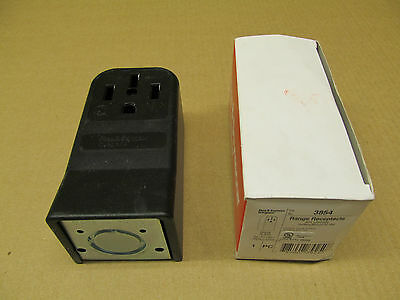 1 Nib Pass & Seymour 3854 Range Receptacle 50A 125/250V Surface Mount 3P 4W
