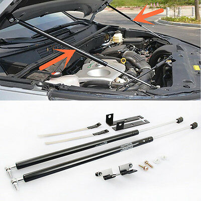 2PCS 304 Stainless Engine Cover Hydraulic Support Bar for Toyota Highlander 2015