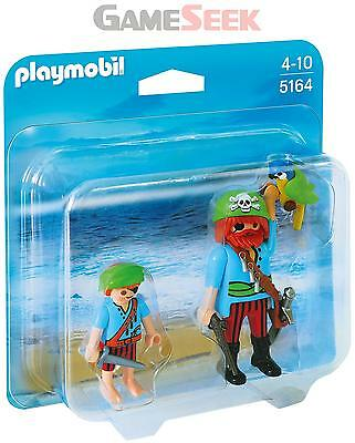 Playmobil 5164 Pirate Mates Duo Pack - Toys Brand New Free Delivery