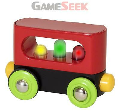 Brio My First Railway Light Up Wagon 33708 - Toys Brand New Free Delivery