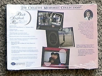 CREATIVE MEMORIES 5x7 BLACK PAGES BNIP & NLA