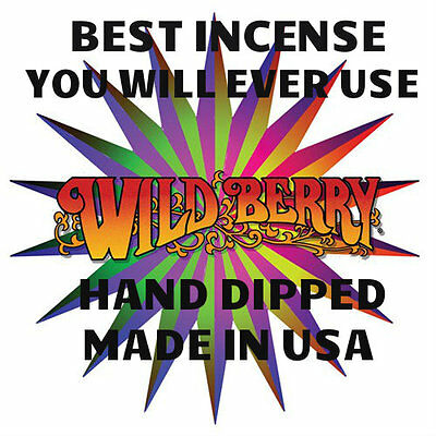 50.STICKS Wild-Berry Incense 5 NEW SCENTS for 2016 5 packs of 10 BOURBON STREET