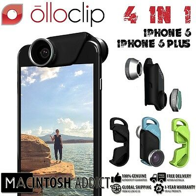 Olloclip 4-In-1 Wearable Lense Kit For iPhone 6/6 Plus Macro Fisheye Wide-Angle