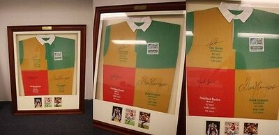 Rugby World Cup 2003 Signed Framed Jersey Memorabilia