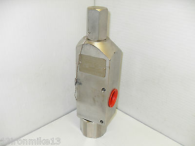 "New Fluid Mechanics 171917-2150 Safety Relief Valve Model 1700 16,500 Psig 1""x1"""