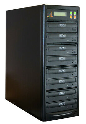 evocept CopyBlast Ultimate DVD/CD 7 Drive Duplicator Copier Tower with USB Copy