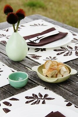 Chocolate Print Placemats set of 4