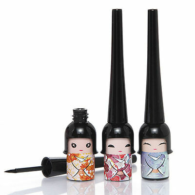 NEW Cosmetic Doll Eyeliner Liquid Eye Liner Pen Pencil Make Up Black Waterproof