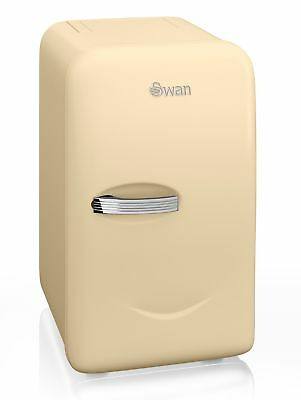 Swan Retro Vintage Mini Fridge Cream SRE10010CN