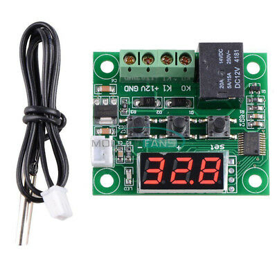 -50-110°C W1209 Digital Thermostat Temperature Control Switch Sensor Module 12V