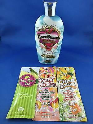 Love Struck Ultra Bronze Supre Premium Tanning Lotion + 3 FREE Lotion Packets!