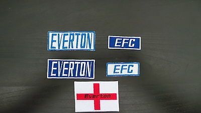 Everton Supporters Embroidered Iron On/Sew On Patch Choice of Designs