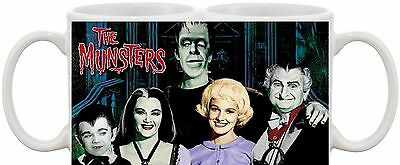 The Munsters Classic Tv Show And Dvd Mug Great Gift Uk Seller