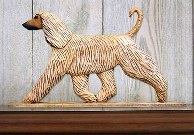 Afghan Figurine Sign Plaque Display Wall Decoration Fawn