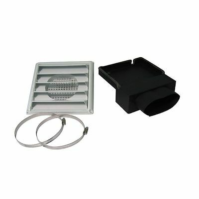 Drolet AC02080 FRESH AIR INTAKE KIT FOR WOOD STOVE required for mobile homes