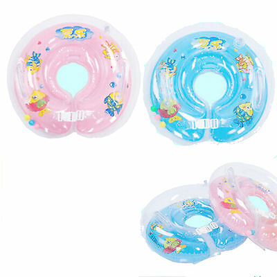 Baby Swimming Swim Ring Neck Bath Float Ring Inflatable Safety & Comfort