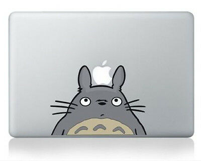 "Totoro Apple Macbook Air/Pro 13"" Removable Vinyl Sticker Skin Decal Cover"