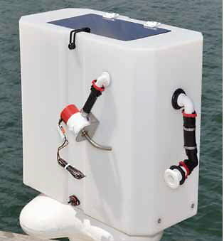 New Era Live Bait Tank - 65 Ltr with Acrylic Lid - Complete Plumbed System