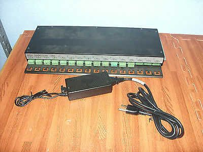 Transas DCU Data Collector Unit 16 Port NMEA 0183 RS-422 Multiplexer w/Pwr Supp