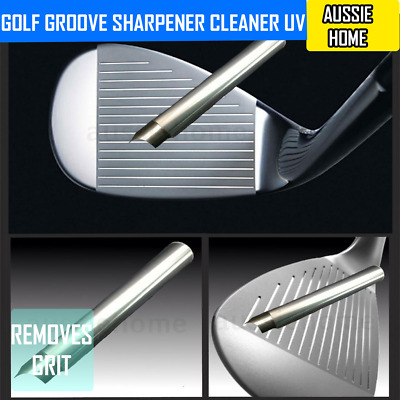 Golf Groove Sharpener Cleaner UV Square Grooves ideal for Irons and Wedges KASA