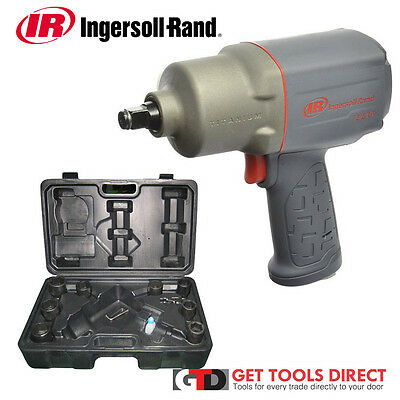 """New Ingersoll Rand 1/2"""" Air Impact Wrench 2235TIMAX-KIT"""